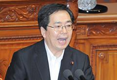 本会議で賛成討論する斉藤鉄夫