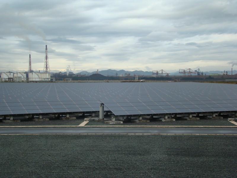 中国電力福山太陽光発電所